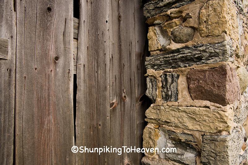 Historic Chase Stone Barn, Oconto County, Wisconsin