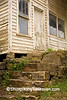 Stone Steps of Abandoned General Store, Searcy County, Arkansas