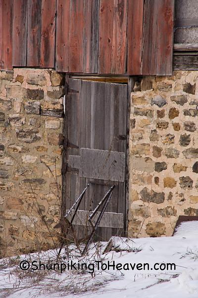 Barn Foundation, Sauk County, Wisconsin