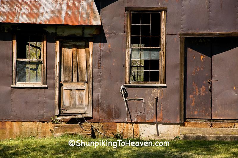 Delapidated Old Building, Washington County, Ohio