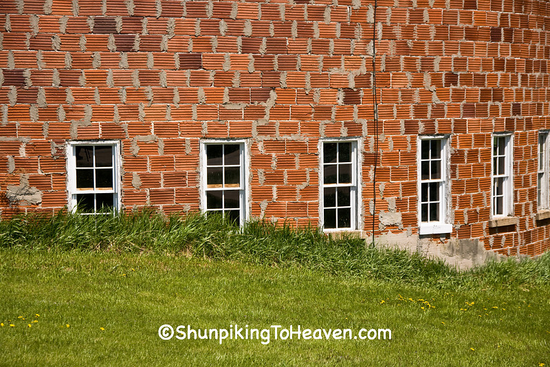 Tile Round Barn, Vernon County, Wisconsin