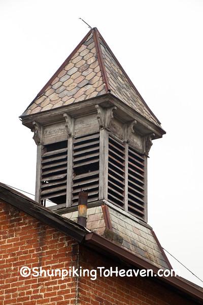 Cupola on Historical Brick Carriage House, Clark County, Ohio