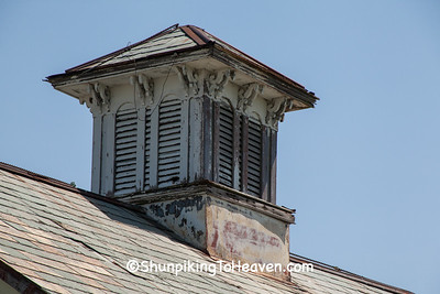 Cupola on Victorian Gothic Carriage House, Allen County, Ohio