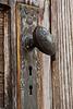 Doorknob on Moore's Memorial Chapel, Blue Creek, Ohio