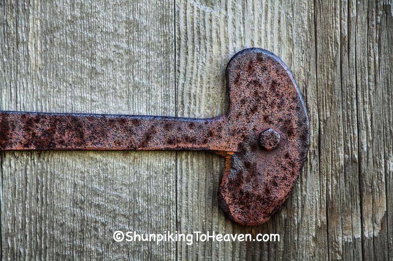 Door Latch of Beaumont Hop House, Waukesha County, Wisconsin