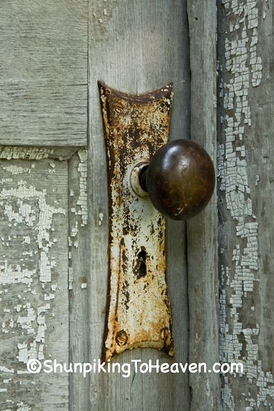 Doorknob on Outbuilding, Delaware County, Iowa