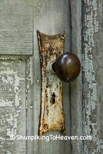 Doorknob on Outbuilding, Delaware County, Iowa