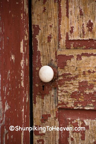 Door of Horsfall's Lansing Variety, Allamakee County, Iowa