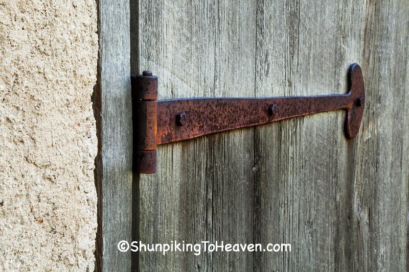Door Hinge of Beaumont Hop House, Waukesha County, Wisconsin