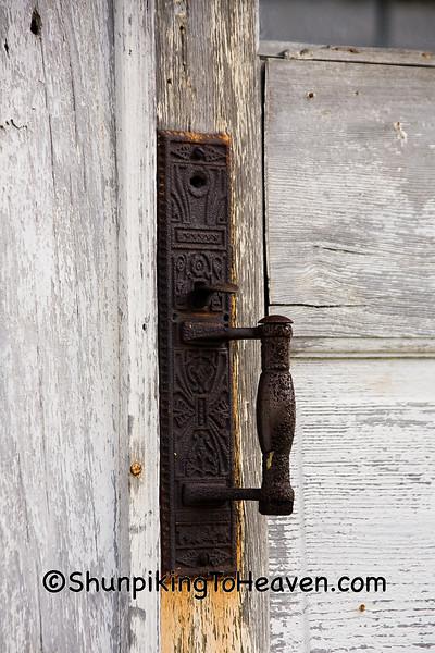 Door Handle on Old General Store, Brown County, Ohio