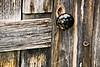 Doorknob on Finnish Nelimark Sauna, Embarass, Minnesota