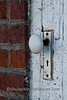 Porcelain Doorknob on Photographer's Studio, Robinson, Illinois