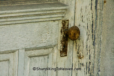 Door Knob on Old Building, Shawnee, Ohio