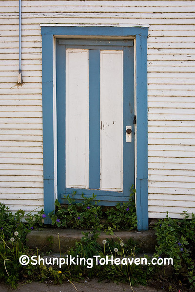Entrance to Old Building, Historic Kingston, Arkansas