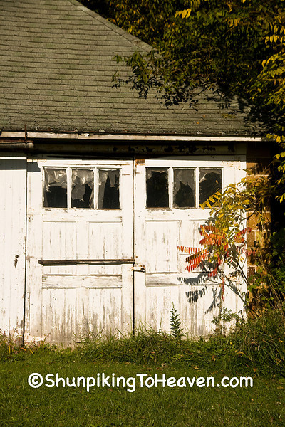Doors on Old-Fashioned Garage, Richland County, Wisconsin
