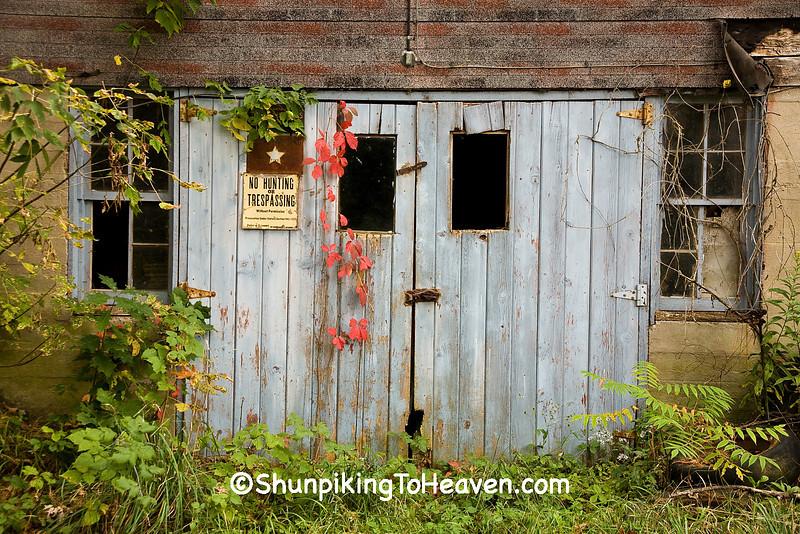 Doors on Old Garage, Vernon County, Wisconsin