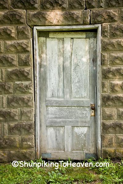 Door on Outbuilding, Delaware County, Iowa