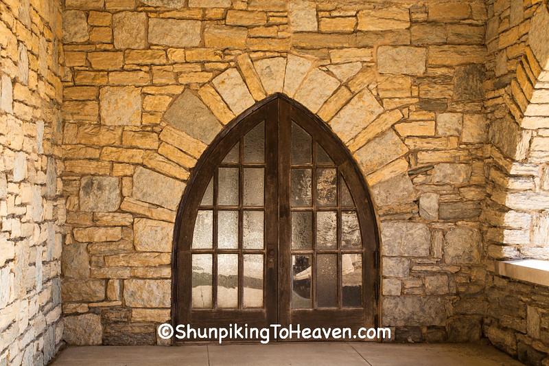 Chapel Door, Riverside Cemetery, Appleton, Wisconsin