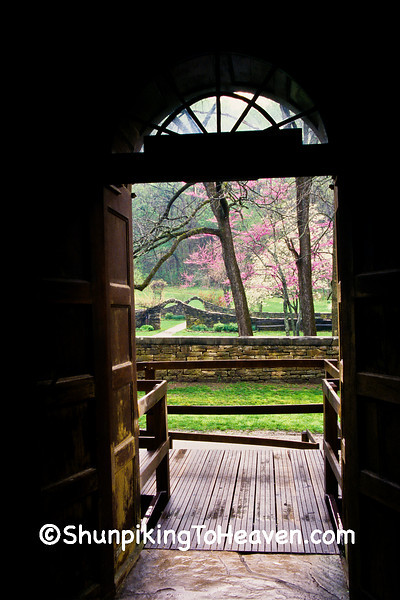 Looking Out the Mill Door, Lawrence County, Indiana