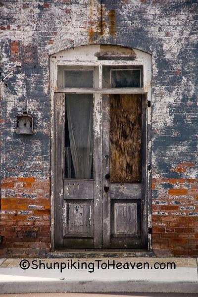 Door of  National Road Historic Building, Henry County, Indiana