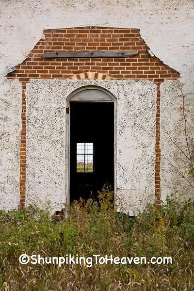 Dilapidated Doorway on Old House, Vernon County, Wisconsin