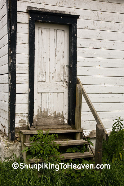 Door on Old Building, Lafayette County, Wisconsin
