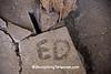 Horse's Name in Concrete, Johnson County, Iowa