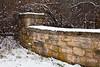 Stone Wall, UW Arboretum, Madison, Wisconsin