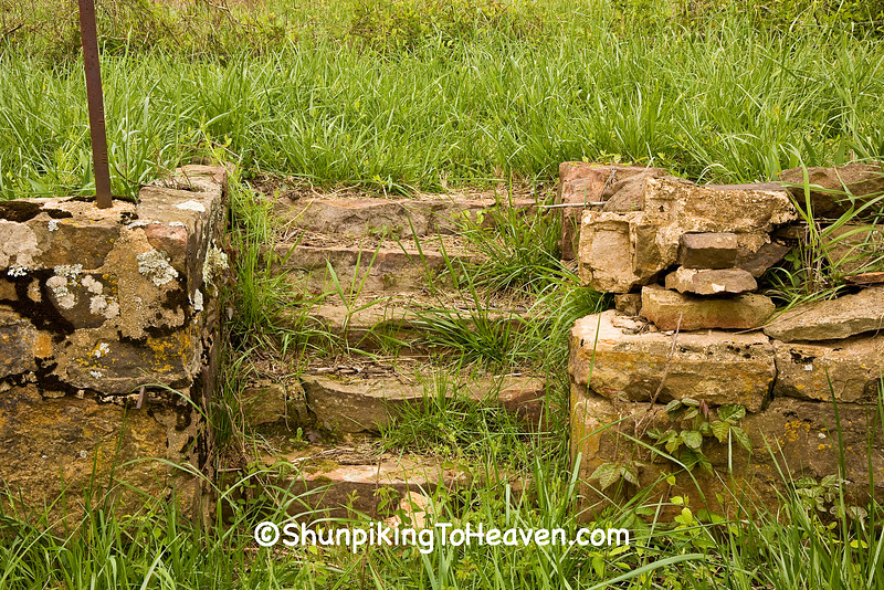 Stone Steps Leading to the Well, Newon County, Arkansas