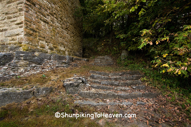 Stone Steps by Cooperage, Clayton County, Iowa