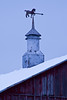 Barn Vent with Horse Weather Vane, Sauk County, Wisconsin