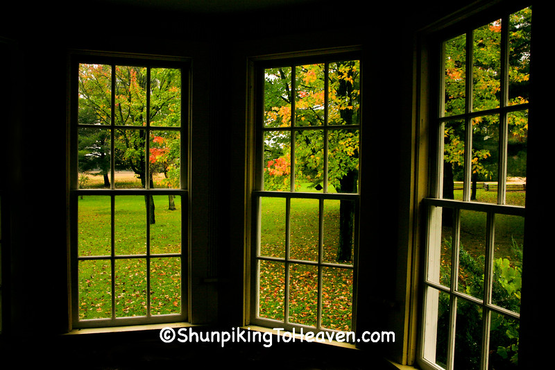 Windows in Caddie Woodlawn Home, Dunn County, Wisconsin