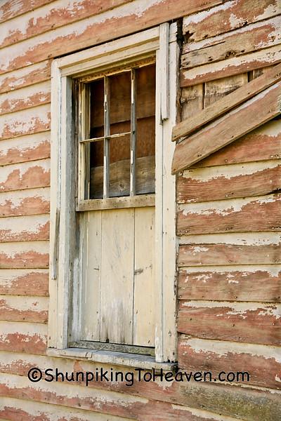 Window on Old House, Jefferson Co., Wisconsin