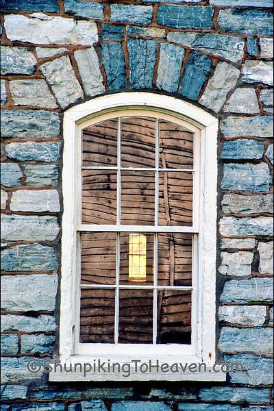 Window on the Star Barn, Built 1872, Dauphin County, Pennsylvania