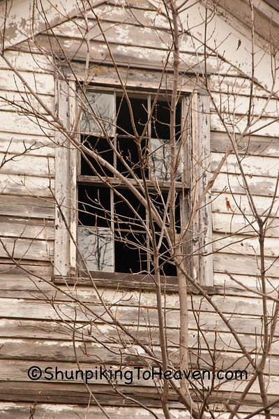 Window of Abandoned House, Vernon County, Wisconsin