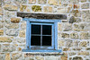 Window of Historic Gehlen Stone Barn, Jackson County, Iowa