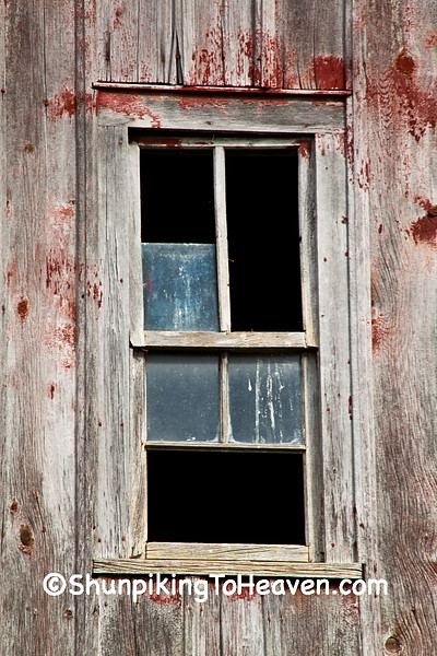 Broken Barn Window, Vernon County, Wisconsin