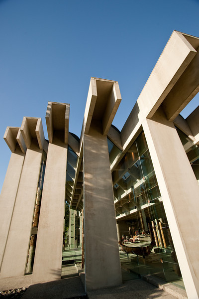 The UBC Museum of Anthropology, one of Arthur Erickson's masterpieces.