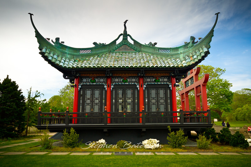 Chinese Pagoda, Marble House Newport Mansion 2012