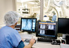 Bronson Surgical Suite - operating room.  For M D News. Colleen Henning, Anne, David Cross pictured.<br /> <br /> 11-26-07
