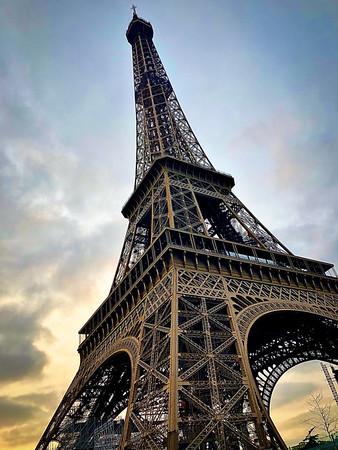 Eiffel in Winter
