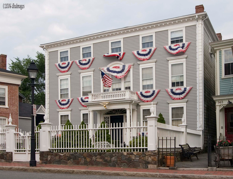 """""""Old Town,"""" Marblehead, Massachusetts, 18th Century (photographed on an earlier trip)"""