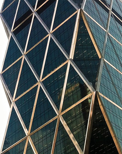 Hearst Tower IV (serrated edge)  iPhone photo