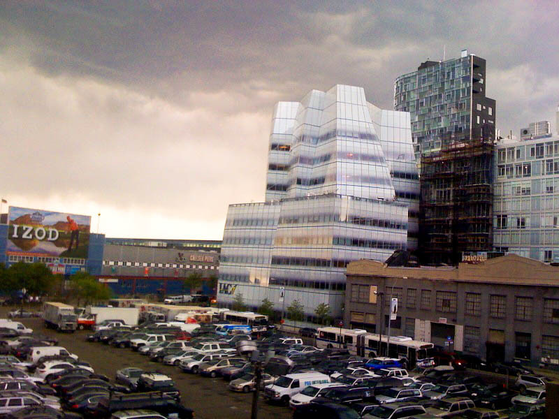 Frank Gehry's IAC Building, from High Line, NYC