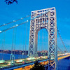 George Washington Bridge, from Fort Lee, NJ