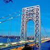 George Washington Bridge, from Fort Lee, NJ