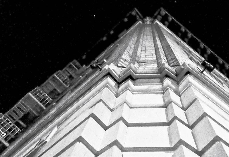 Night corner, Edgecombe Avenue, NYC