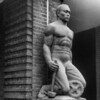 John Henry sculpture (1937) by Heinz Warneke, Harlem River Houses<br /> <br /> iPhoneography