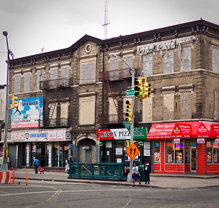"""In December 1920, Ed H. Wilson opened a small hotel expressly for Harlem's African-American clientele. The Hotel Olga evokes little nostalgia today, but its idle 3-story building at Lenox Avenue and 145th Street was once a crucible of black tourism. Its registry, published weekly in papers across the country, assured intrepid travelers of a comfortable, safe and respectable sojourn to be had in New York. In an era when Harlem's now iconic Hotel Theresa still loomed as a citadel of racial exclusion, Wilson conjured up his swank haven for """"the Race"""" from an earlier mixed-race watering hole on the same site, the Dolphin Hotel. His new hotel coincided with the erasure of Lenox Oval, a rear through-block sandlot noted for culturally diverse athletics. For a quarter century--spanning the storied Harlem Renaissance, the Great Depression and WWII--Wilson's little venture offered travelers of color a key waypoint in America's most renowned black community.  Click to read more about the Hotel Olga, Dolphin Hotel and Lenox Oval: www.examiner.com/article/hotel-olga-race-resort-of-the-ha...  Listen to audiobite: soundcloud.com/eric-k-washington/hotel-olga-race-retreat-..."""