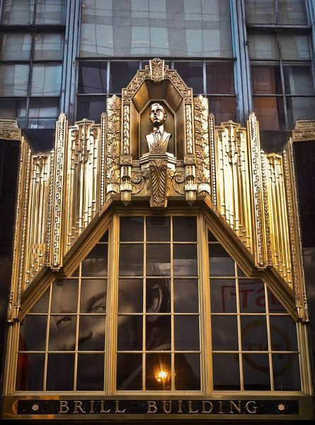 Brill Building, 1619 Broadway, near Times Square, NYC<br /> <br /> iPhone photo